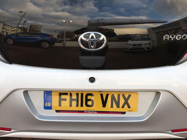 Toyota Aygo 1.0 VVT-i X-pure 2016