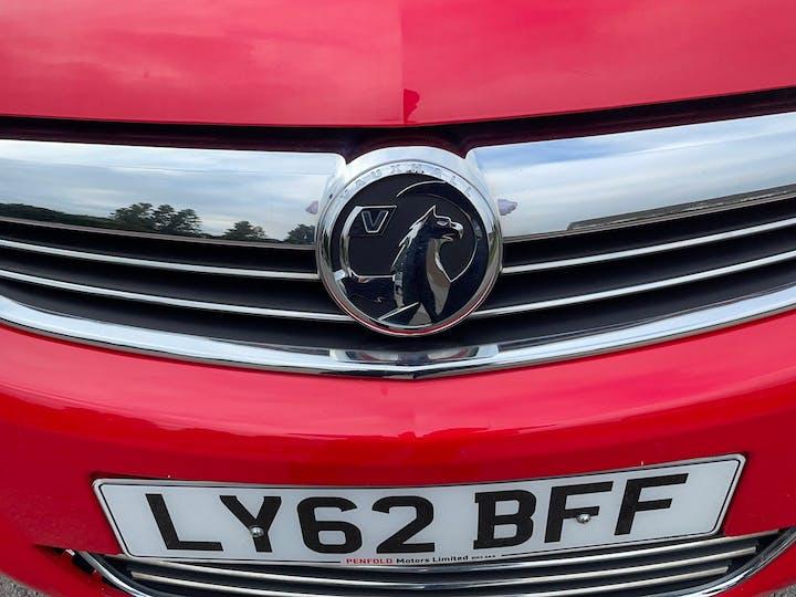 Vauxhall Zafira 1.6 Exclusiv 2012