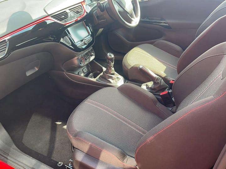 Red Vauxhall Corsa 1.4 SRi 2018