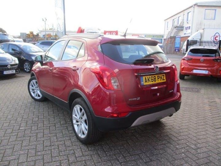 Red Vauxhall Mokka X 1.4 Design Nav 2019
