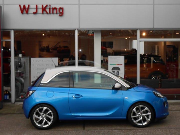 Blue Vauxhall Adam 1.4 Slam 2018