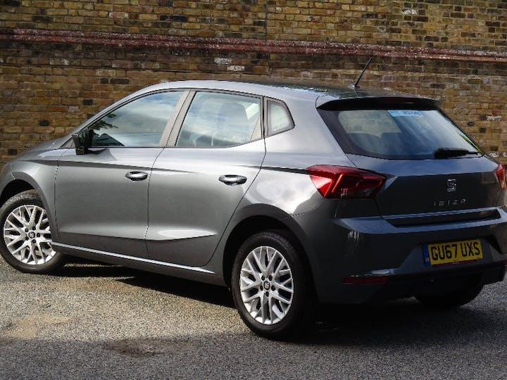 Grey SEAT Ibiza 1.0 TSI SE 2017