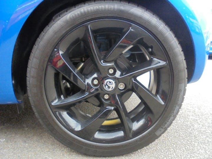 Blue Vauxhall Adam 1.2 Energised Black Jack 2019