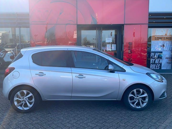 Silver Vauxhall Corsa 1.4 Sport 2018