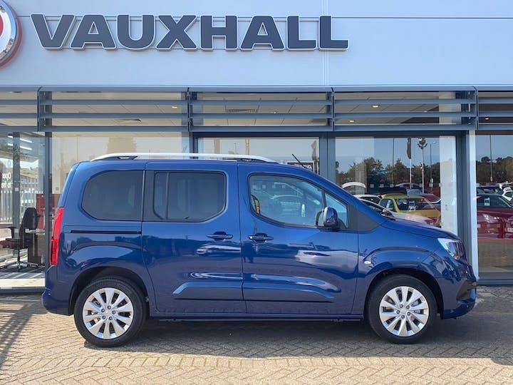 Blue Vauxhall Combo Life 1.5 Elite S/S 2020