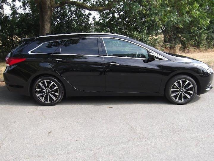 Black Hyundai I40 1.6 CRDi SE Nav 2018