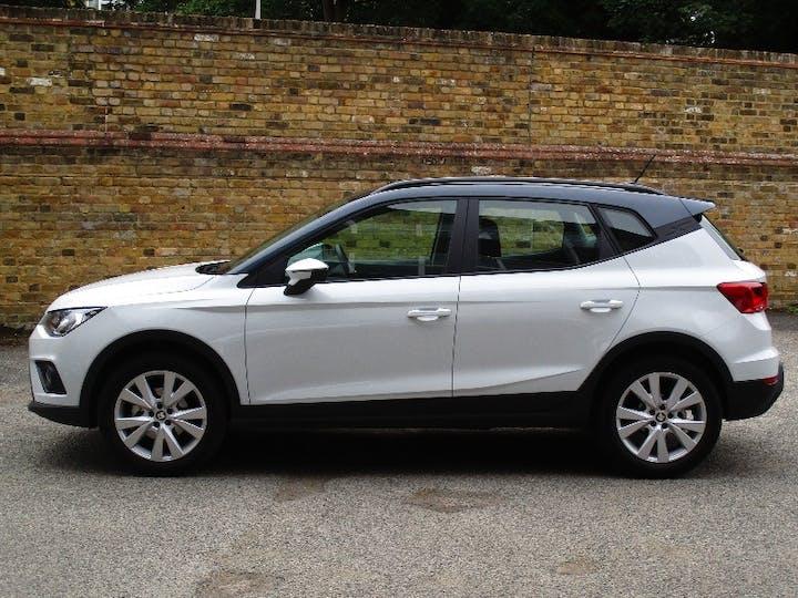 White SEAT Arona 1.0 TSI SE Technology DSG 2020
