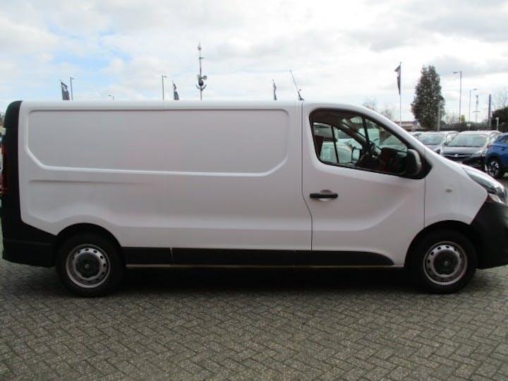 White Vauxhall Vivaro 1.6 L2h1 2900 CDTi 2018