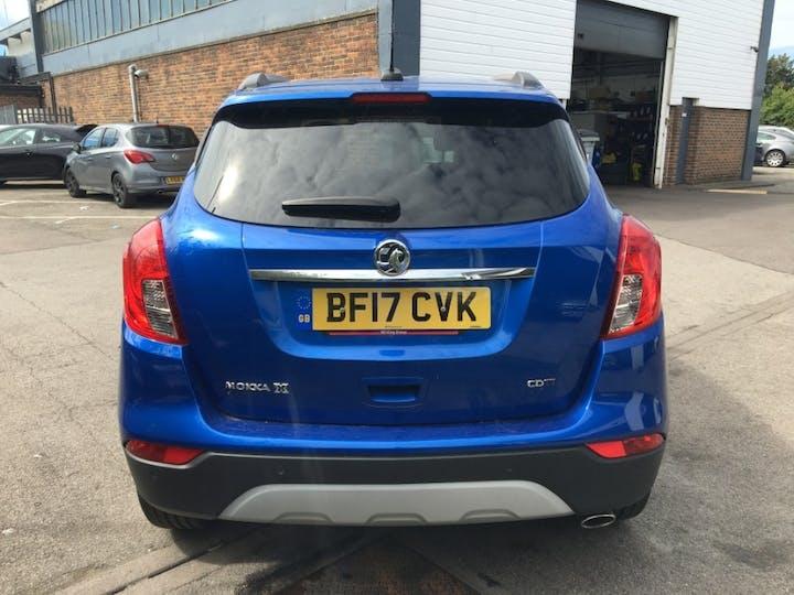 Blue Vauxhall Mokka X 1.6 Elite Nav CDTi S/S 2017