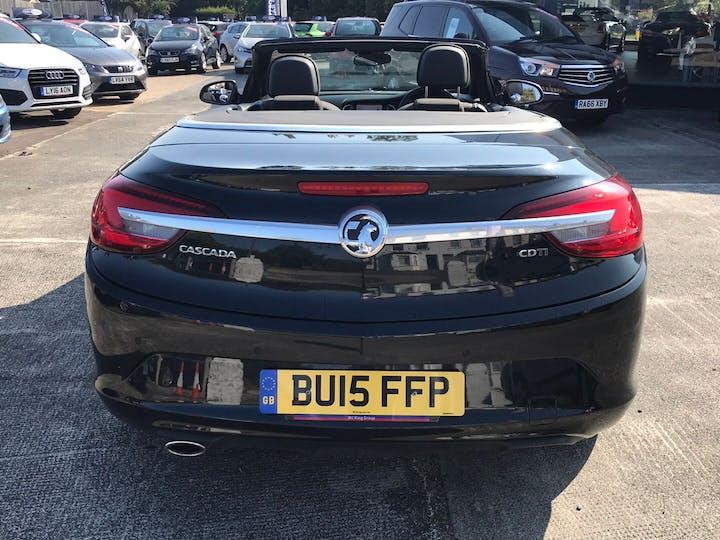 Black Vauxhall Cascada 2.0 SE CDTi S/S 2015