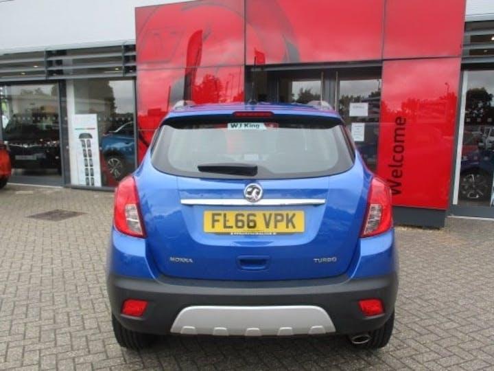 Blue Vauxhall Mokka 1.4 Tech Line S/S 2016