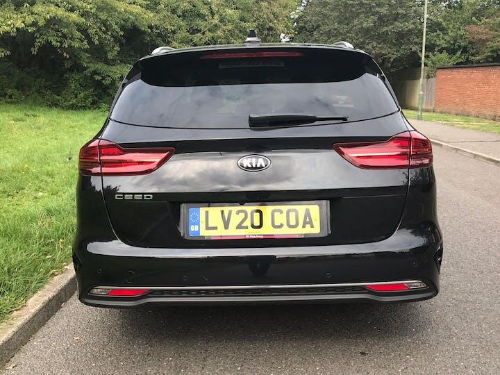 Black Kia Ceed 1.4 3 Isg 2020