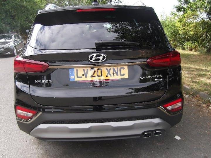 Black Hyundai Santa Fe 2.2 CRDi Premium SE 2020