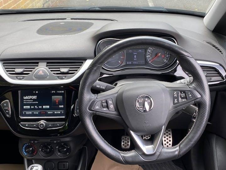 Black Vauxhall Corsa 1.4 Black Edition S/S 2016