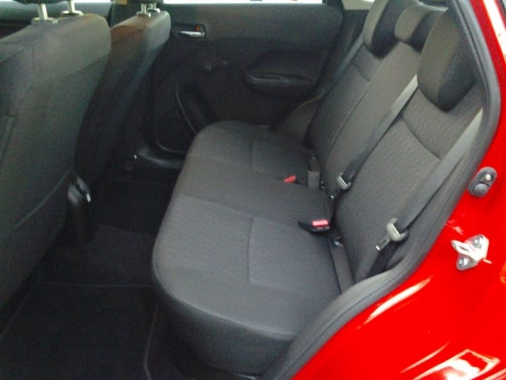 Red Suzuki Baleno 1.2 Sz3 Dualjet 2018