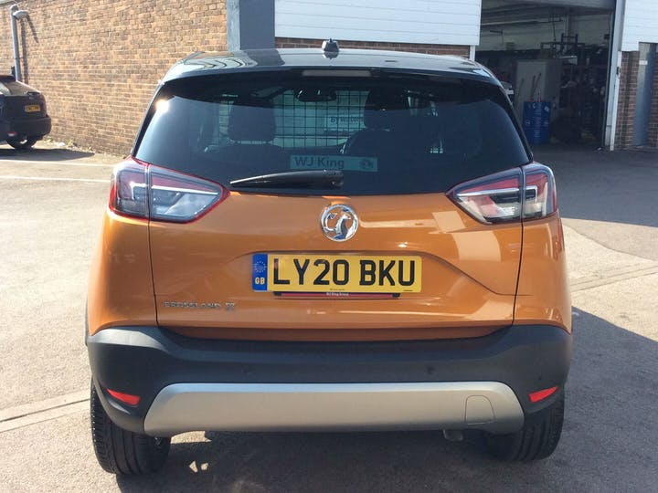 Orange Vauxhall Crossland X 1.2 Elite Nav 2020