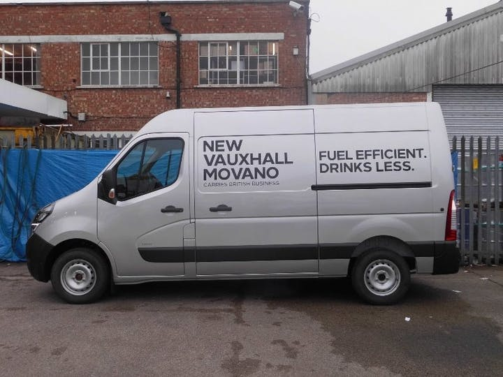 Silver Vauxhall Movano 2.3 L2h2 F3500 2019