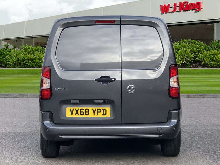 Grey Vauxhall Combo 1.6 L1h1 2000 Sportive S/S 2018