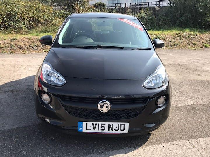 Black Vauxhall Adam 1.2 Slam 2015
