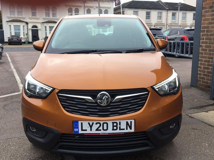 Orange Vauxhall Crossland X 1.2 SE Ecotec S/S 2020