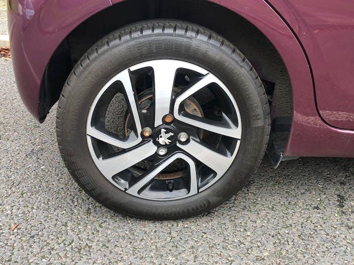 Purple Peugeot 108 1.2 Puretech Allure 2017