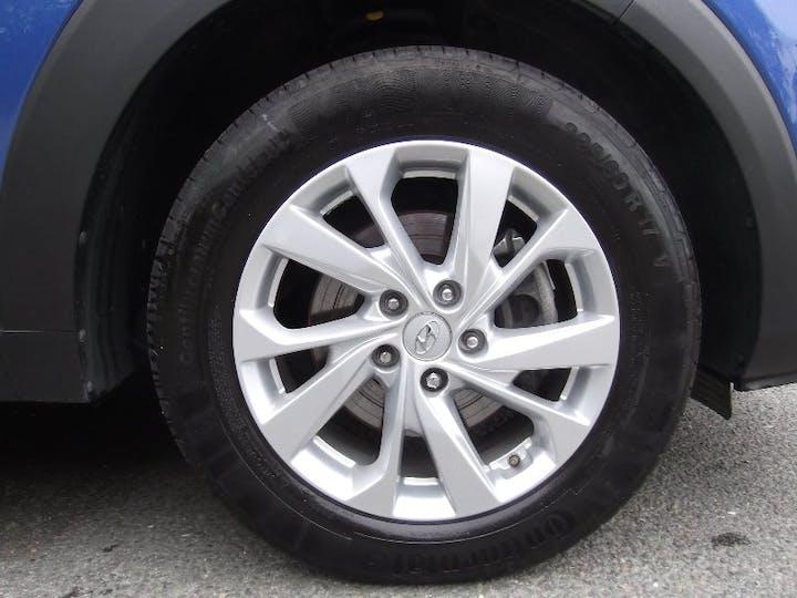 Blue Hyundai Tucson 1.6 T-gdi SE Nav 2019
