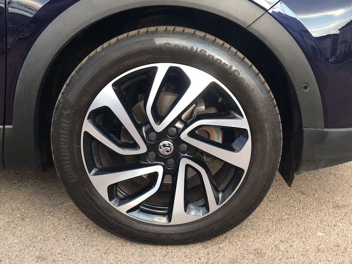 Purple Vauxhall Grandland X 1.2 Elite Nav S/S 2019