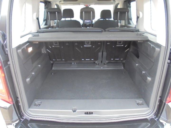 Black Vauxhall Combo Life 1.5 Energy CDTi 2018
