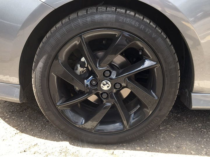Grey Vauxhall Corsa 1.4 SRi Vx-line Nav Black 2018