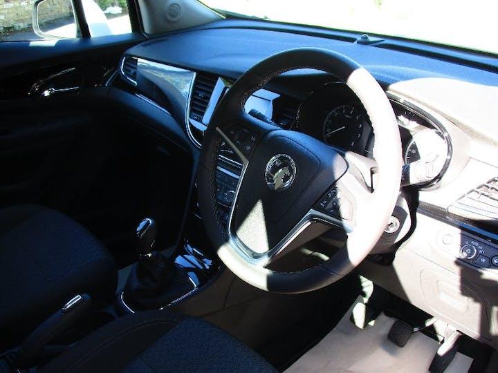 White Vauxhall Mokka X 1.4 Active Ecotec S/S 2017