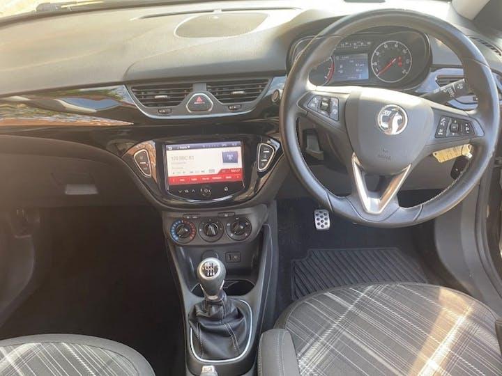 Black Vauxhall Corsa 1.0 Limited Edition Ecoflex S/S 2015